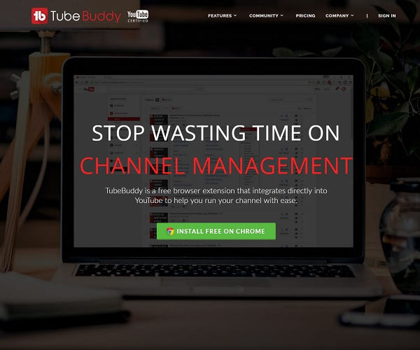 Website Copywriting Services for TubeBuddy